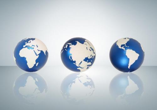 Laser Engraving Globe